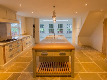 Bespoke kitchens in renovated properties