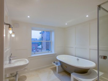 Bespoke bathroom in renovated properties