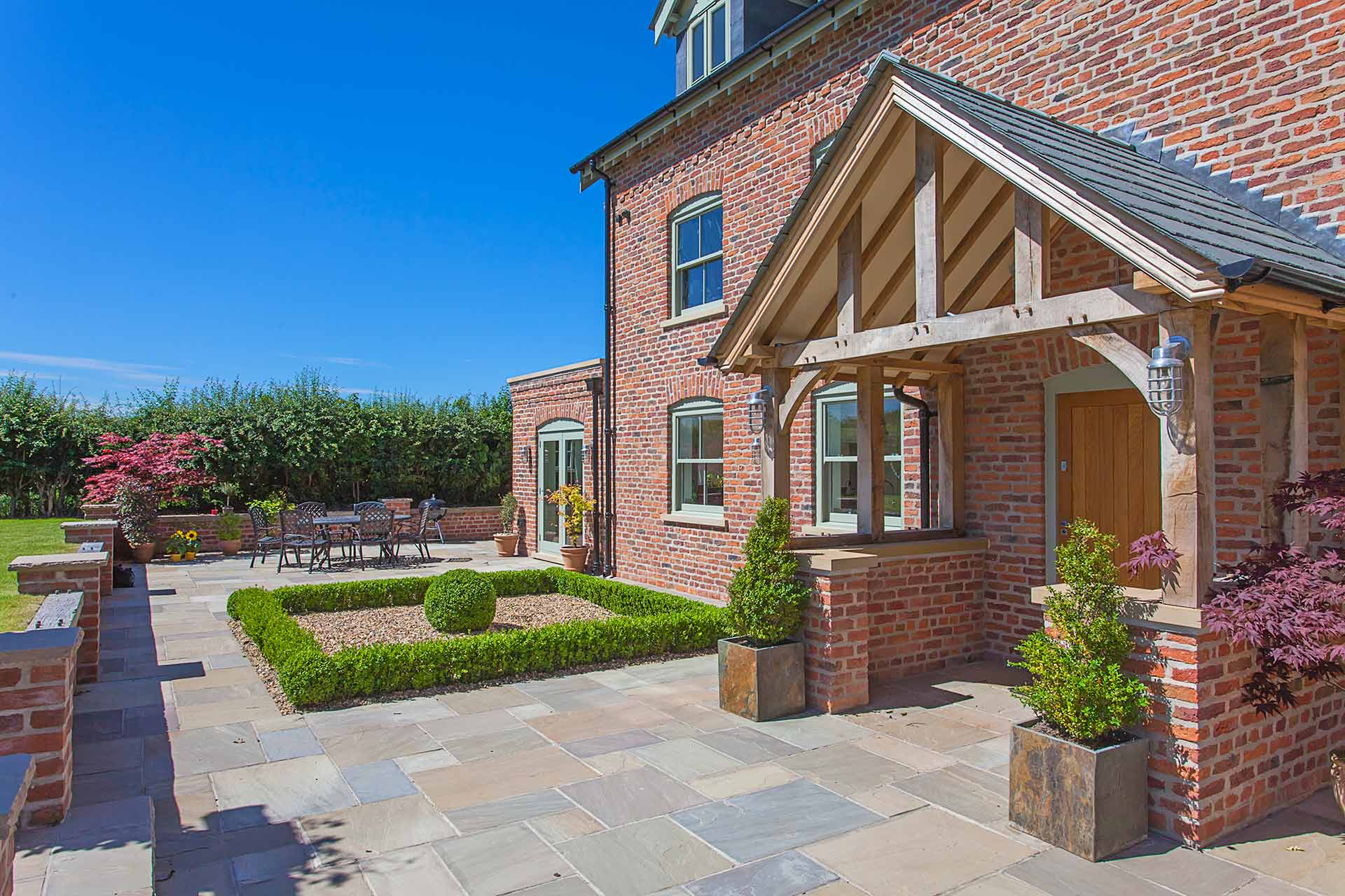 Modern Unique Developments, Blackhill Farm Knutsford patio